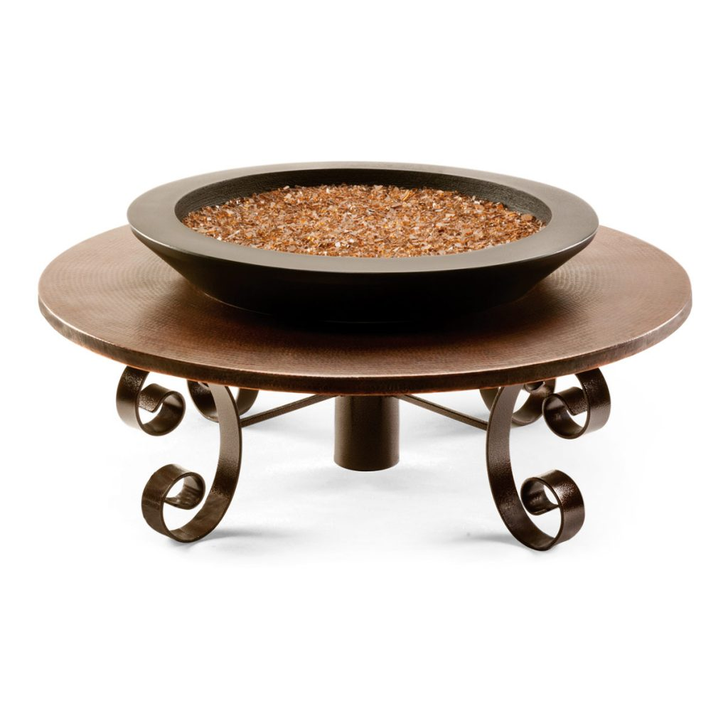 Caldera fire table (metal)