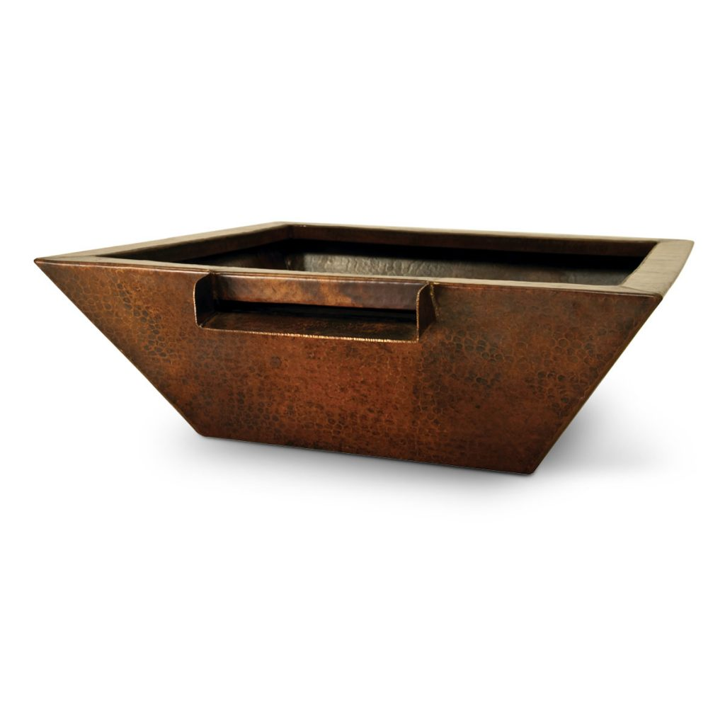 Corinthian - fire & water bowl (metal)