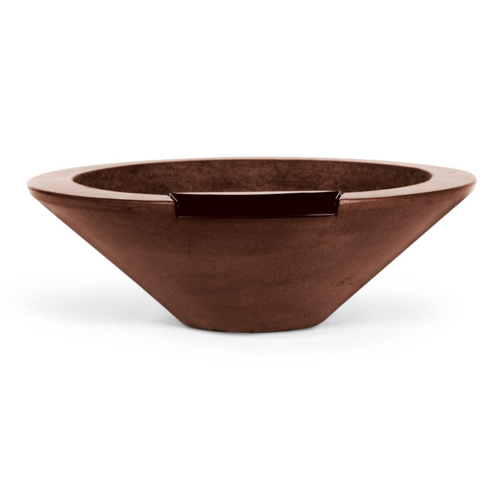 Essex - fire & water bowl (concrete)