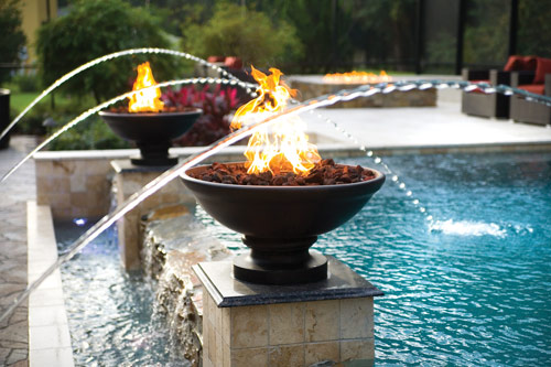 Fire Bowls Grand Effects Water Features